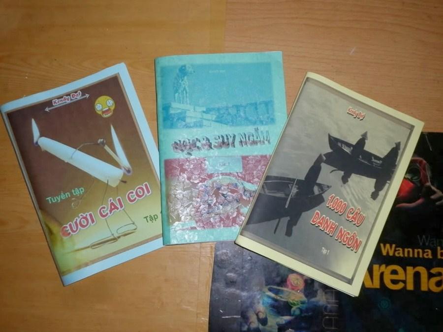 Sách của anh Kendy Đạt