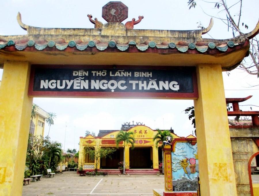 Đền thờ lãnh binh Nguyễn Ngọc Thăng