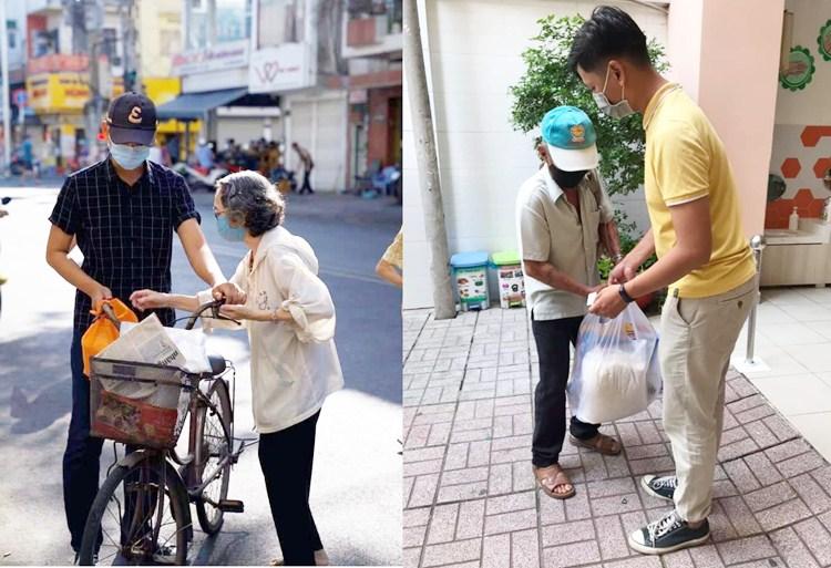 Phạm Huỳnh Minh Tuấn làm từ thiện
