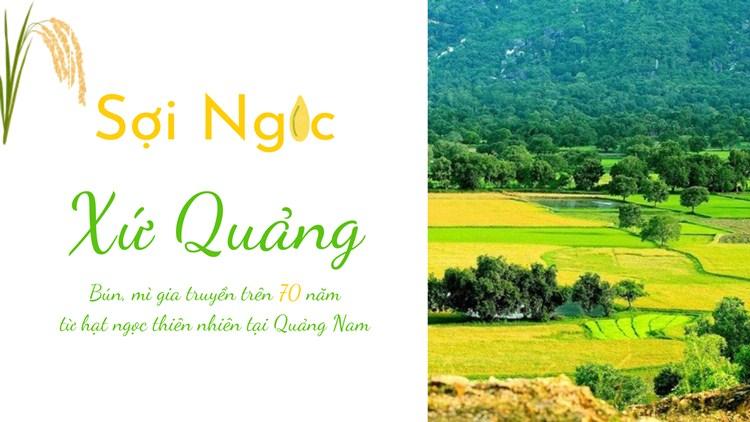 Poster Hapinut - Sợi Ngọc Xứ Quảng